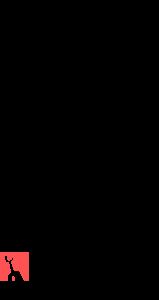 ARID STUDIOS logo negro cuadro color vertical